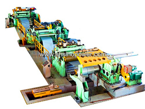 SP(0.2-2.0) metal slitting line machine