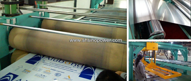 acp sheet machine, acp manufacturing machine, acp production line,