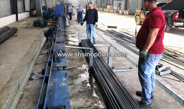 run out table for tube making machine package