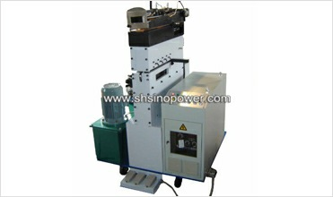 head shear and welder for pipe making machine